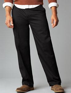 Dockers Men's Big & Tall Signature D3 Classic Fit Charcoal Grey Pants