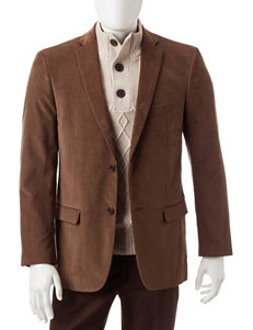 Adolfo Elbow Patch Blazer