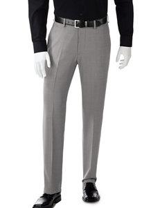 Haggar Tonal Grid Fancy Dress Pants