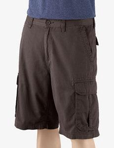 Sun River Men's Big & Tall Solid Color Cargo Shorts