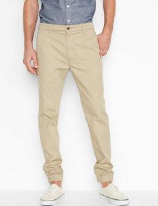 Levi's® Khaki Twill Jogger Pants