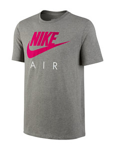 Nike® Solid Color Nike Air Logo T-shirt