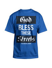 Hybrid God Bless These Streets T-shirt