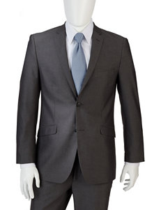 Adolfo Grey Slim Fit Suit Jacket