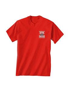 Press Box Red Tees & Tanks NCAA