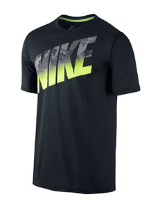 Nike® Legend Camo Block Logo T-shirt