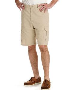 Lee Comfort Waist Khaki Cargo Shorts
