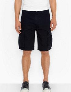Levi's Ace Black Cargo Ripstop Shorts
