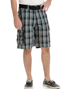 Lee Grey Plaid Relaxed