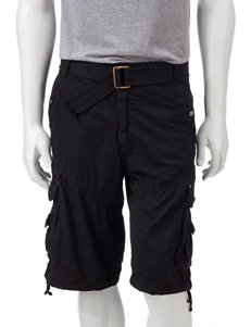 Seven Souls Solid Color Rugged Cargo Shorts – Young Men's