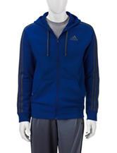 adidas® Solid Color Zip Front Hoodie