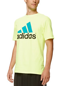Adidas Yellow Tees & Tanks