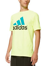 adidas® Solid Color Logo T-shirt