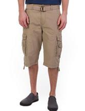 Unionbay® Solid Color Cordova Messenger Shorts
