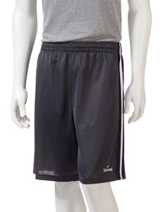 Spalding Side Striped Athletic Shorts