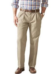 Dockers Men's Big & Tall Easy Khaki Pleated Pants