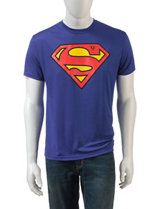 DC Comics Royal Blue Tees & Tanks