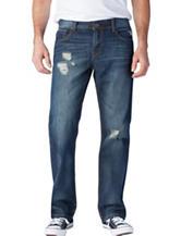 Seven 7 Straight Leg Quake Jeans