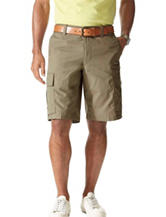 Dockers® Grey Mirco-Dobby Cargo Shorts