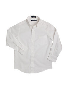 French Toast Solid Color Oxford Shirt