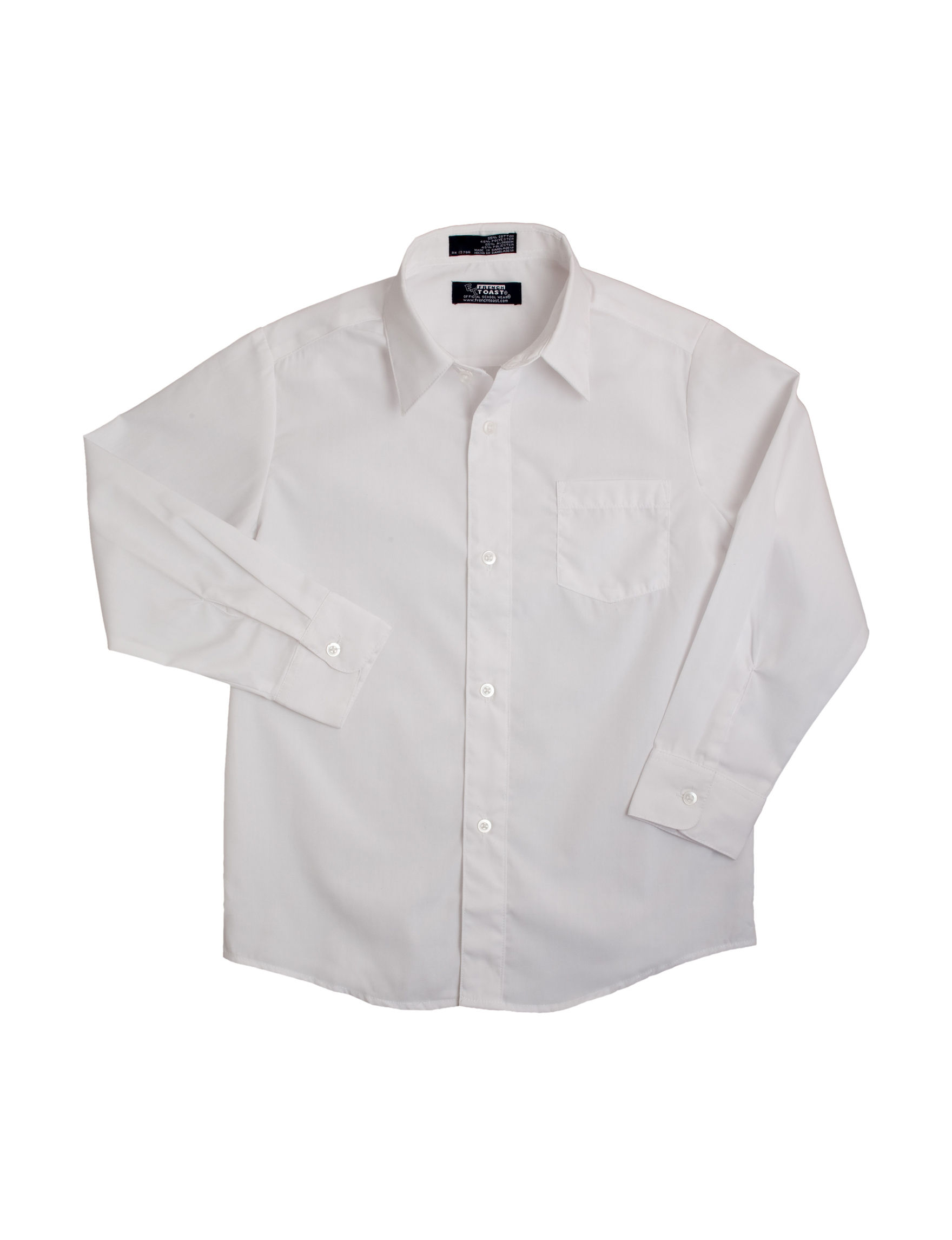 French Toast White Dress Shirts
