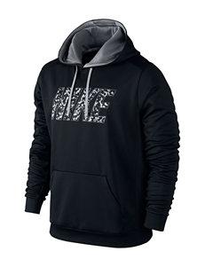 Nike® Camo Logo Print K.O. Hoodie