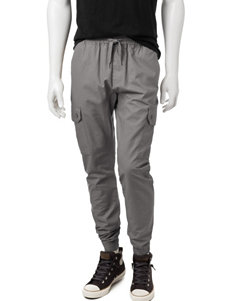 Southpole Solid Color Ripstop Jogger Pants