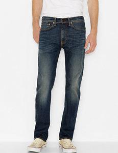 Levi's® 505™ Blue Wash Straight Leg Jeans