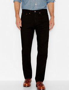 Levi's Strong Black Rinse Straight