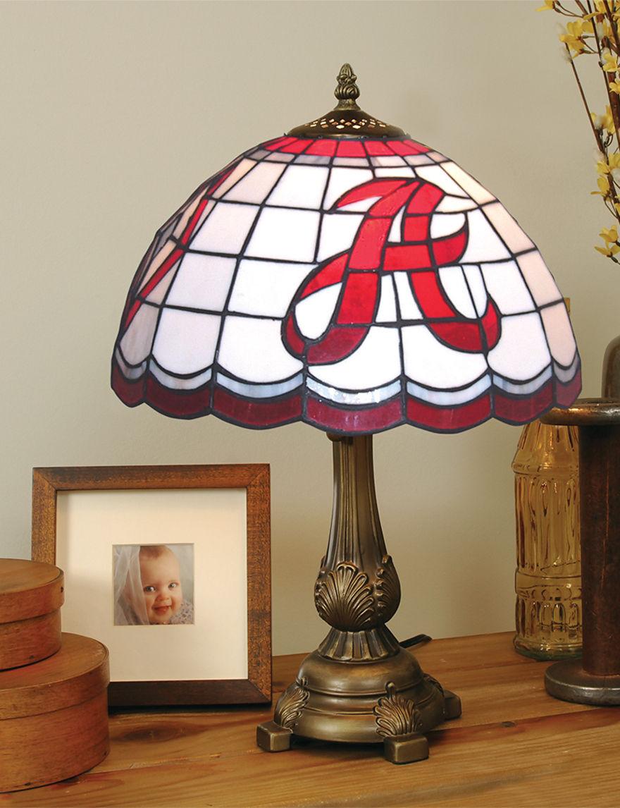 NCAA Crimson Desk Lamps Table Lamps Lighting & Lamps