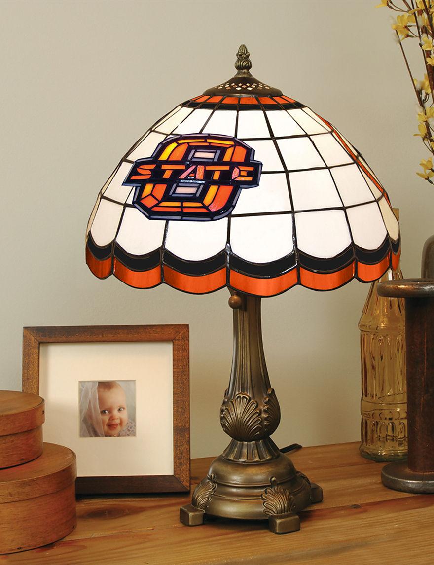 NCAA Orange Table Lamps Lighting & Lamps