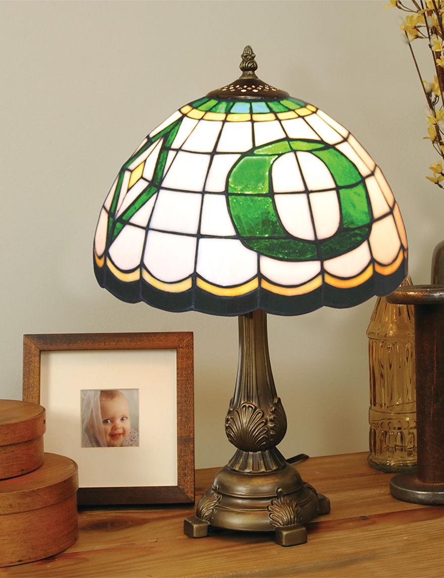 NCAA Green Table Lamps Lighting & Lamps