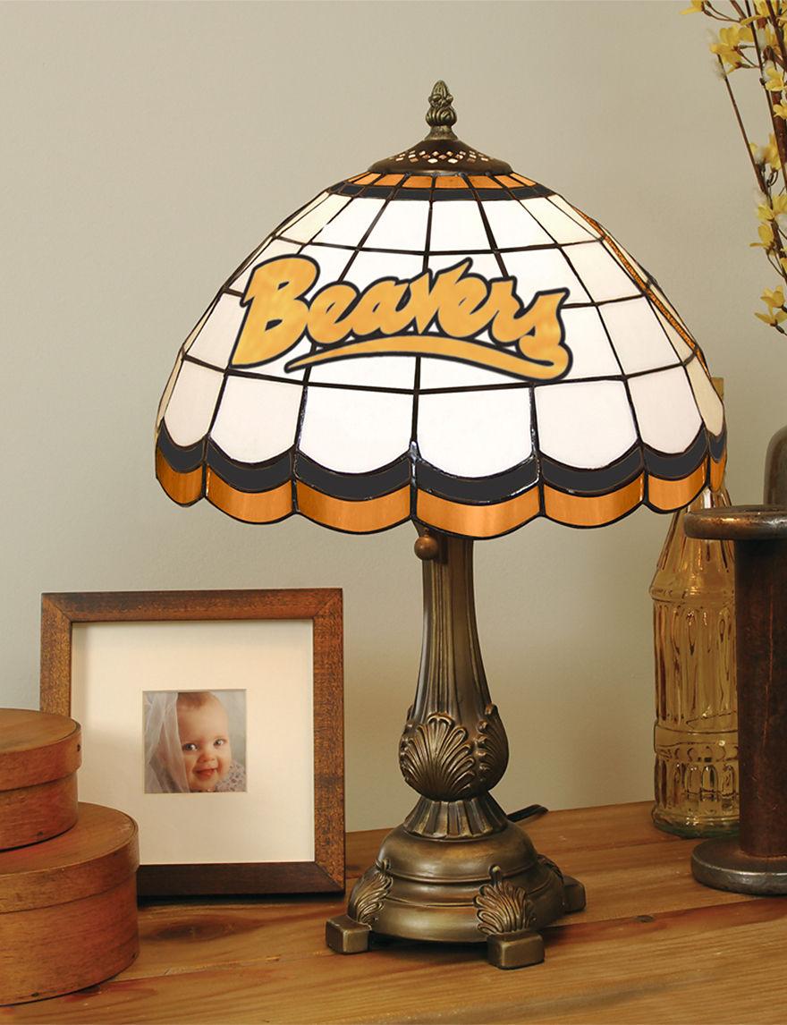 NCAA Orange Table Lamps