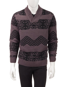 Axist Jacquard Pattern Knit Sweater