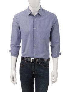 Axist Surfer Blue Casual Button Down Shirts