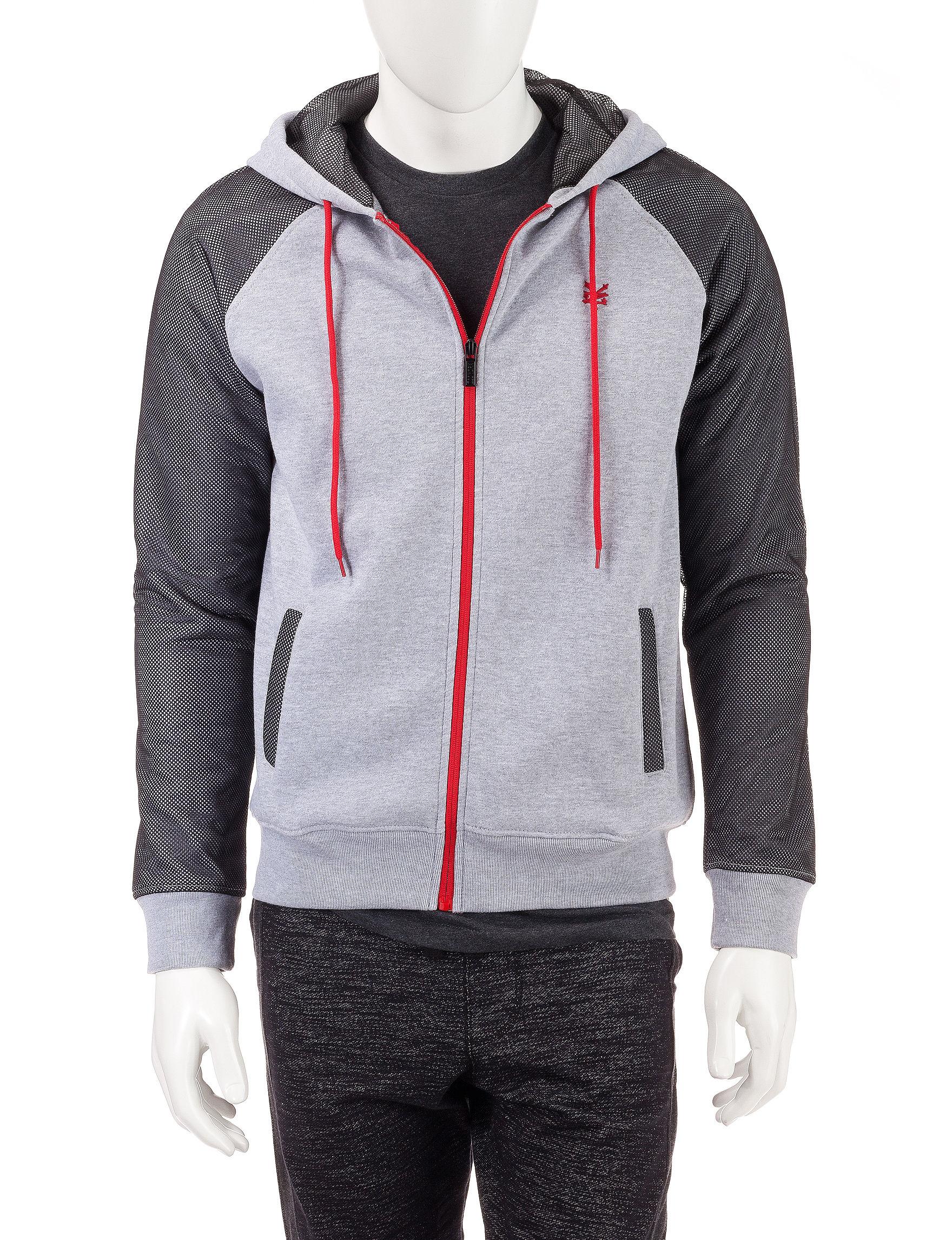 Zoo York Grey Fleece & Soft Shell Jackets