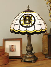 Boston Bruins Pride Tiffany Style Table Lamp