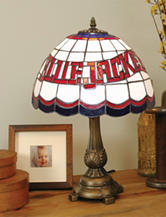 Columbus Blue Jackets Pride Tiffany Style Table Lamp