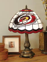 Carolina Hurricanes Pride Tiffany Style Table Lamp