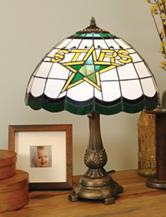 Dallas Stars Pride Tiffany Style Table Lamp