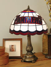 Florida Panthers  Pride Tiffany Style Table Lamp