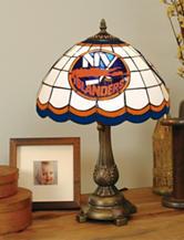 New York Islanders Pride Tiffany Style Table Lamp