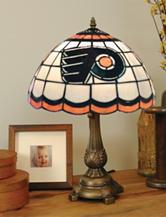 Philadelphia Flyers Pride Tiffany Style Table Lamp