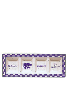 NCAA Purple / Grey Serving Platters & Trays