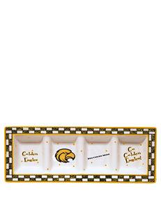 NCAA Yellow / Black Dip & Condiment Bowls Serveware