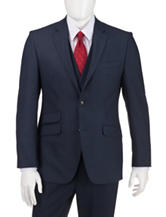 Perry Ellis Blue Slim Fit Suit Separate Jacket