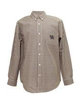 Kentucky Wildcats Blue & Brown Plaid Shirt