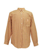 Tennessee Volunteers Yellow & Blue Plaid Shirt
