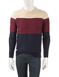 Signature Studio Color Block Sweater