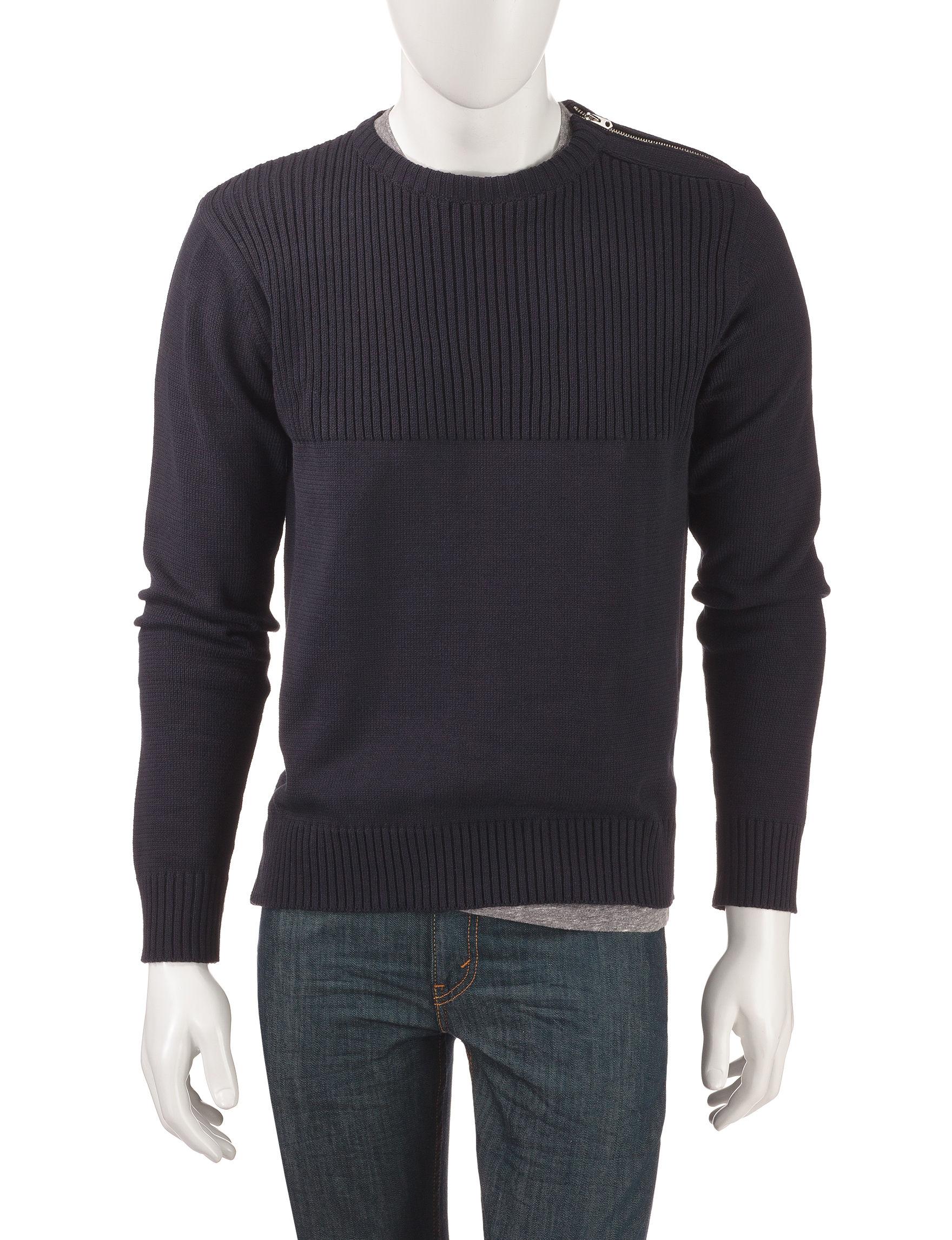 Signature Studio Navy Sweaters